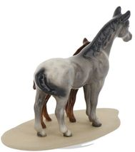 Hagen Renaker Miniature Horse Appaloosa and Colt on Base image 5