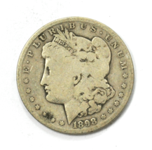 1898 S $1 Morgan Silver One Dollar US San Francisco Rare - $34.64