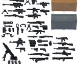 Pack for lego minifigures minifig accessories set a and b weapons pack with crates thumb155 crop