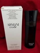 Armani Code Giorgio Armani homme Men Eau De Toilette Spray Bottle 2.5 oz 75 ml - $46.74