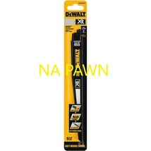 Dewalt Xr 5-Pk 9-in 5/8-TPI Wood Cutting Reciprocating Blade New *Free Shipping* - $12.58
