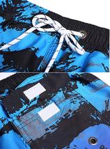 Men's APTRO Swim Trunks Summer Palm Tree Beachwear Long Board Shorts - 3XL image 4