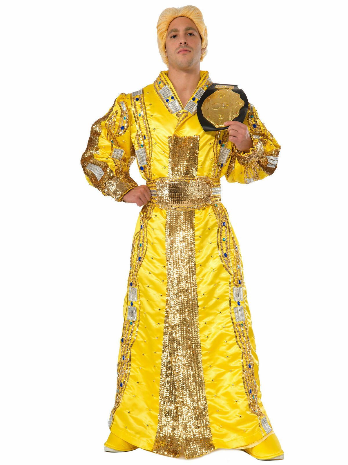 Ric Flair Deluxe Costume Adult WWE Wrestling Halloween Free Shipping Cosplay