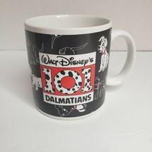 101 Dalmations Walt Disney 45358 Coffee Mug Applause Vintage Made in Korea - $15.51