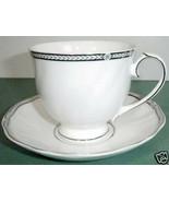 Wedgwood Crown Platinum Tea Cup & Saucer Made in U.K New - $18.90