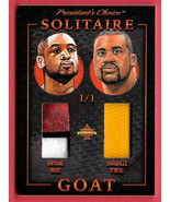 2020 Shaquille O'Neal - Dwyane Wade President's Choice Solitaire 1/1 Dua... - $94.99
