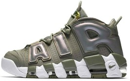 Nike Air More Uptempo Dark STUCCO/WHITE Size Men 9.5 Women 11 New (917593-001) - $89.60