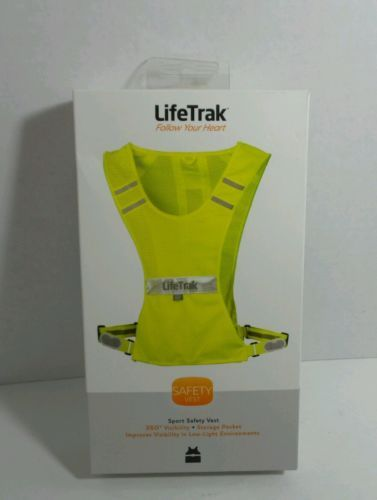 LifeTrak Safety Vest Follow Your Heart - High Visibility in low light settings