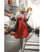 Marilyn Monroe Blonde Bombshell New York City Street Pink Dress Poster 2... - $19.88
