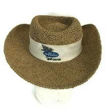 DPC Dorfman Pacific Co. Dad Miller Golf Course Men's Seagrass Straw Hat ... - $20.53