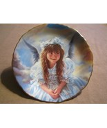 ANGEL OF HAPPINESS collector plate SANDRA KUCK Precious Angels CHILD - $24.99