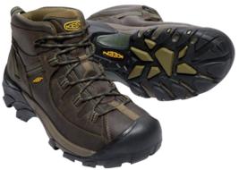 Keen Targhee II Mid Top Size US 9 M (D) EU 42 Men's WP Hiking Boots 1017346