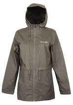 Columbia Womens Gray OmniTech Timber Point Casual Rain Jacket Sz Medium ... - $98.01