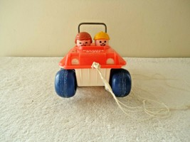 """Vintage 1973 Fisher Price Bouncing Buggy """" GREAT COLLECTIBLE DISPLAYABLE... - $27.99"""