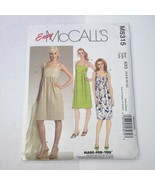 McCall's 5315 Size 4-12 Misses' Sundress  - $11.64