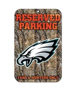 "NFL Philadelphia Eagles Plastic Sign, 11 x 17"", Black - $14.95"
