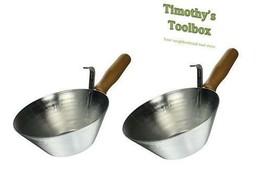 Kraft Tool Galvanized Steel Bucket Scoop- 2 pack - $27.16