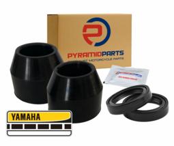 Fork Seals & Dust Boots for Yamaha MX100 MX125 MX175 74-75 2382314400 13... - $22.36