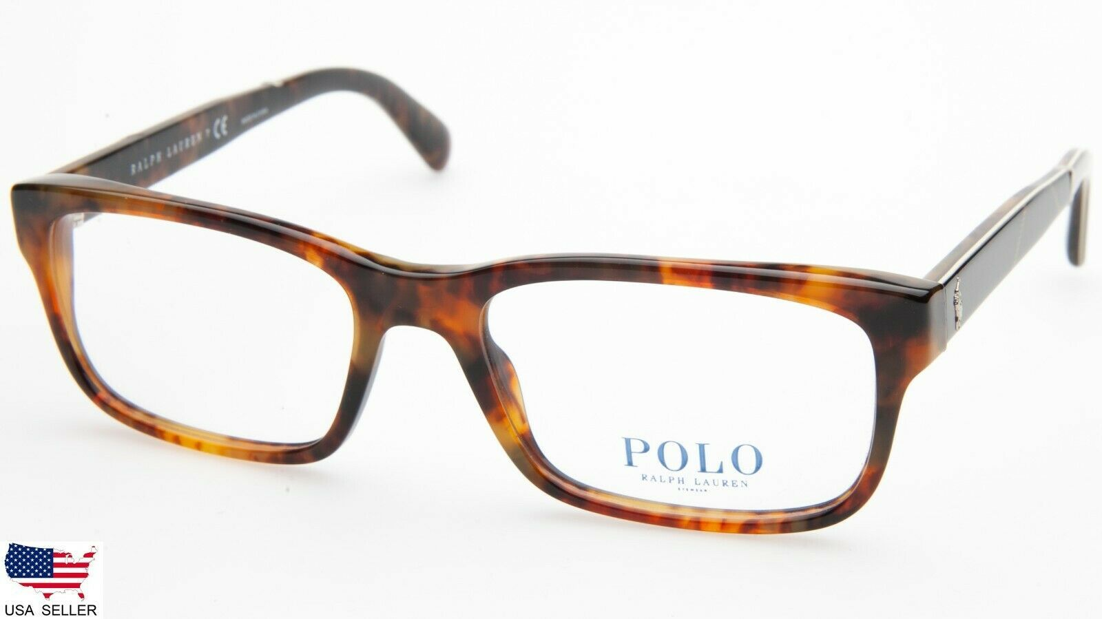 cf933094fc62 NEW POLO RALPH LAUREN PH 2163 5017 SHINY TORTOISE EYEGLASSES FRAME  52-17-145 B33 - $98.98