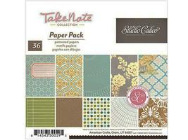 Studio Calico 6x6 Inch Take Note Paper Pad #330029