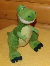 "Toy Story Disney Pixar REX 14"" Plush T-Rex Green Dinosaur Kohls Promo - $7.95"