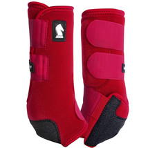 Classic Equine Legacy System Crimson Hind Sport Support Boots Small U-02CM - $99.99
