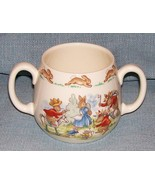 Royal Doulton Bunnykins -2 Handled Child Cup - Cowboys and Indians HW140... - $7.95