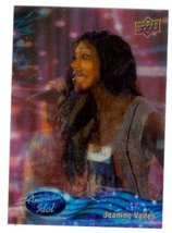 Jeanine Vailes trading card (Singer) 2009 Upper Deck American Idol #095 3D - $4.00