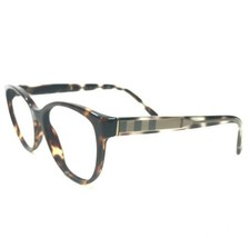 Burberry B2229 3002 Sunglasses Eyeglasses Frames Round Brown Tortoise No... - $84.14