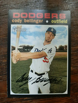 x1 2020 Topps Heritage Base #257 Cody Bellinger Los Angeles Dodgers Card... - $1.99