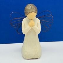 Willow Tree figurine sculpture susan sue Lordi demdaco Angel of prayer 1... - $17.33