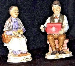 Man & Women Figurines AB 281 Vintage