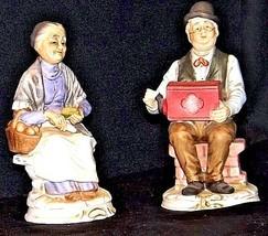 Man & Women Figurines AB 281 Vintage - $69.25