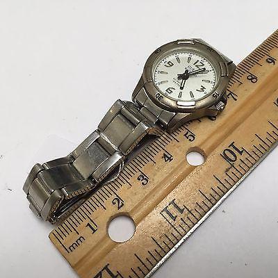 Nice Vintage Guess Waterpro Lady 50m Steel Analog Quartz Watch Hours~New Battery