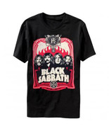 Black Sabbath-Red Flames-Black T-shirt - $21.99