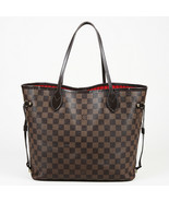"""Louis Vuitton Damier Ebene Coated Canvas """"Neverfull MM"""" Tote Bag - $1,105.00"""