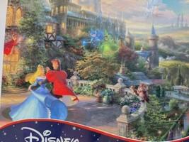 Disney Thomas Kinkade Puzzle 750 Piece RARE Cinderella Price Charming Print - $14.50