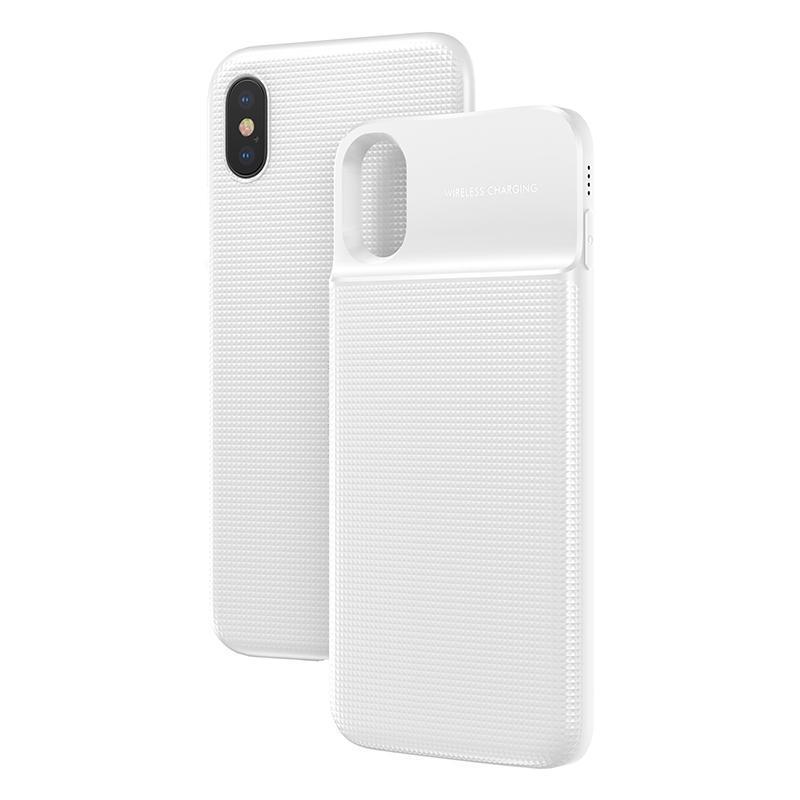 Baseus 5000mAh QI Wireless Charger Case External Battery Wireless Charging image 8
