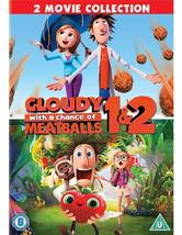 Cloudy with a Chance of Meatballs 1 & 2 DVD - $17.00