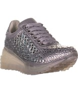 Steve Madden Carissa Lace Up Sneakers, Rhinestone - $86.39+