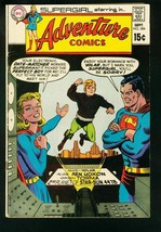 ADVENTURE COMICS #384 1969-SUPERGIRL-DATING MACHINE-DC COMICS-vg - $18.62