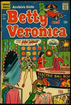 Archie's Girls Betty and Veronica #167 1969- Psychedelic clothes cover VG - $22.70