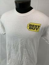 Vintage Best Buy T Shirt Promo Tee Men's Medium Logo Crew Geek Squad - $24.99