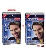 2 X Schwarzkopf Men Perfect    Professional  Hair Color Gel - Light Brow... - $32.57