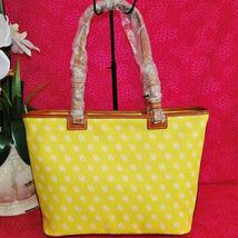 Dooney & Bourke Gretta Yellow Leisure Shopper Tote image 6