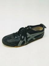 RARE Onitsuka Tiger Mexico 66 Size 12.5 Men's HL202 Black/Slate Gray ASICS - $32.06