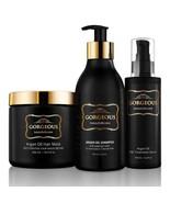 Argan Oil Hair Treatment Gift Set - 3 Piece:Argan Oil Shampoo (8.5oz) mask - $83.79