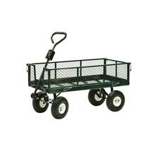 Garden Beautification Tool in Steel Drop Side Yard Cart Rust Resistant E... - $111.99