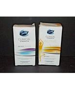 2 Boxes Secret Clinical Strength Soft Solid Deodorant Lavendar & Sport F... - $19.79