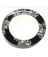 """Kate Spade New York Lenox St. Kitts Dogwood Point Dinner Plate 11"""" Black & White - $34.64"""